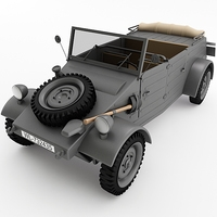 Kubelwagen 3D Model