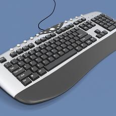 New Keyboard 3D Model