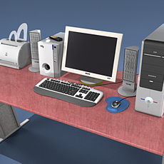 Computer Collection Ver.1 3D Model