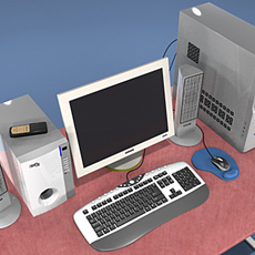 Computer Collection Ver.2 3D Model
