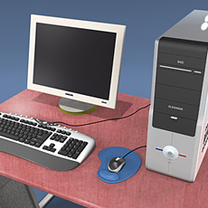 Computer Collection Ver.3 3D Model