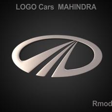 Mahindra 3d Logo 3D Model