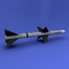 AIM-7 3D Model