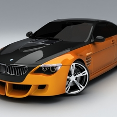 BMW M6 Tension by Schnitzer 3D Model