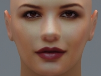 Catherine Zeta Jones 3D Model