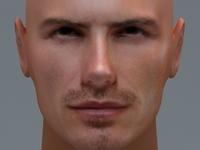 David Beckham 3D Model