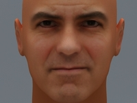 George Clooney 3D Model