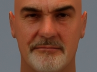 Sean Connery 3D Model