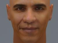 Free Barak Obama 3D Model