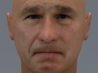 George W Bush 3D Model