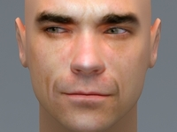 Robbie Williams 3D Model