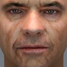 Jack Nickolson 3D Model