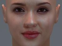 Jessica Alba 3D Model