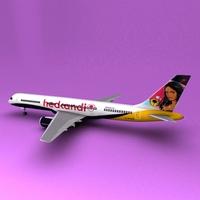 Boeing 757 3D Model