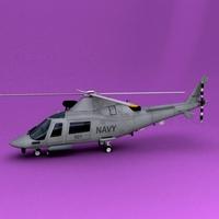 A109 3D Model