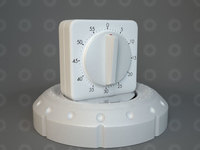 Kitchen Timer 3D Model