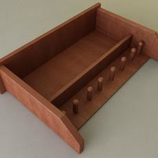 Shaker Style Shelf 3D Model