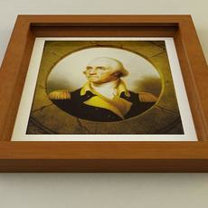 Picture Frame Style E 3D Model