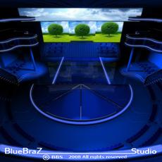 Set tv 3D Model
