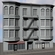 Appartment Building 3D Model