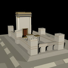 Herod's Temple 3D Model