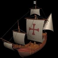 Nao Santa Maria 3D Model