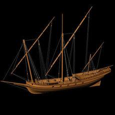 Xebec 3D Model