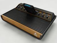 1Atari 2600 VCS 3D Model