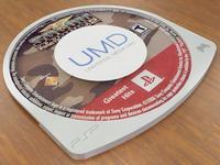 Universal Media Disc 3D Model