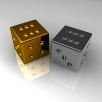 The Dices 3D Model