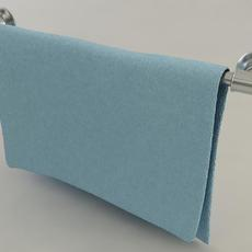Bathroom Towel Rack 3D Model