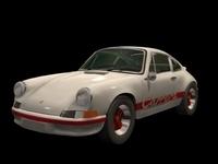 Porsche Carrera 3D Model