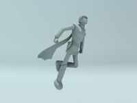 Cyborg 004 3D Model