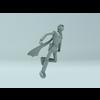 Free Cyborg 004 3D Model
