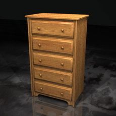 Chest of Drawers.zip 3D Model