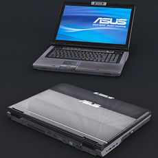 Asus M70s Laptop *HD Model* 3D Model