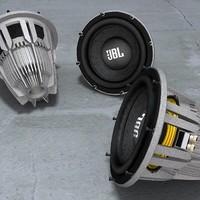 JBL GTi Subwoofer 3D Model