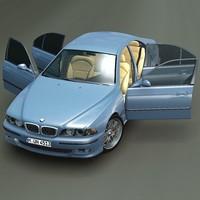 BMW M5 E39 3D Model