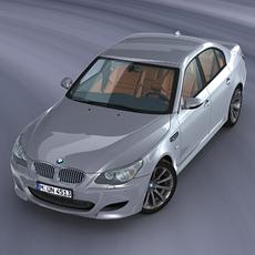 BMW M5 E60 3D Model