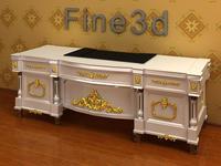08-028-Desk-0505 3D Model