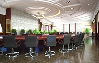 Conference Spaces 007 3D Model