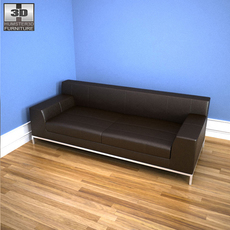 IKEA KRAMFORS three-seat sofa 3D Model