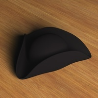 Three Cornered Hat.zip 3D Model