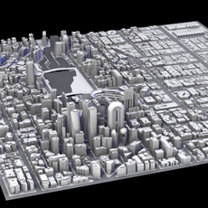 City Quadrant 3D Model