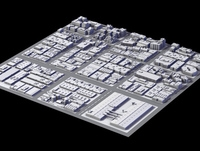 City District II 3D Model