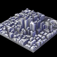 City District III 3D Model