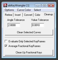 Free abKeyWrangler for Maya 2.9.1 (maya script)