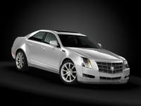 2009 Cadillac CTS 3D Model