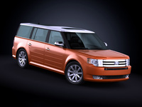2010 Ford Flex 3D Model