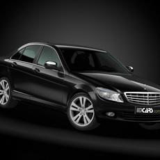 2008 Mercedes Benz C Class 3D Model